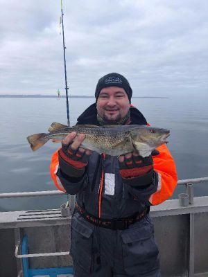 På havfiskeri ved Als med Outdoor i Centrum