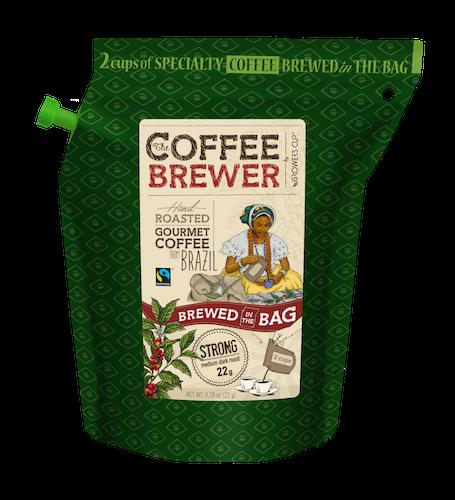 Coffee Brewer Kaffe brygger pose Brazil Fairtrade, Ascarive