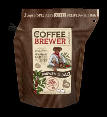 Coffee Brewer Kaffe brygger pose Columbia