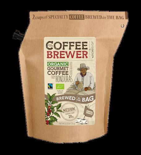 Coffee Brewer Kaffe brygger pose Honduras, Capucas